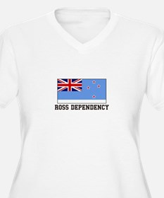Ross Dependency Plus Size T-Shirt