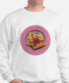 Waffles With Syrup Sweatshirt