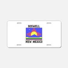 Roswell, New Mexico Aluminum License Plate