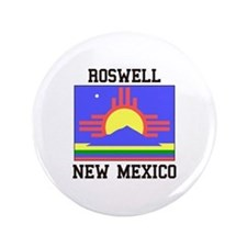 Roswell, New Mexico Button