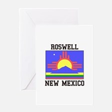 Roswell, New Mexico Greeting Cards