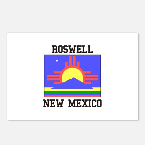 Roswell, New Mexico Postcards (Package of 8)
