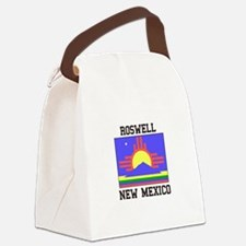Roswell, New Mexico Canvas Lunch Bag