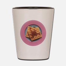 Waffles With Syrup Shot Glass