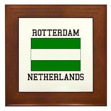 Rotterdam, Netherlands Framed Tile