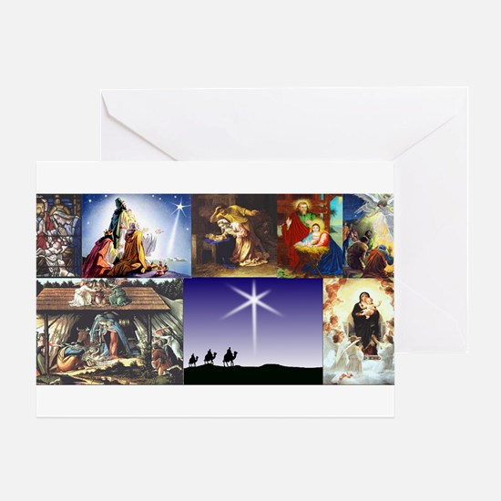 Christmas Nativity Medley Greeting Card