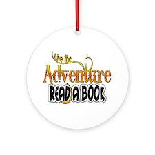 Reading Adventure Ornament (Round)
