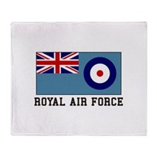 Royal Air Force Throw Blanket