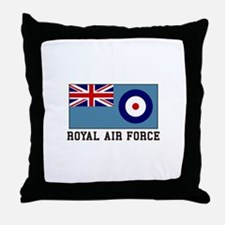 Royal Air Force Throw Pillow