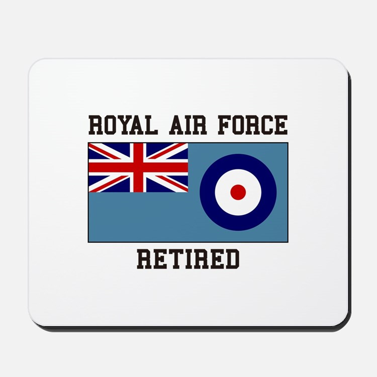 Royal Air Force Retired Mousepad