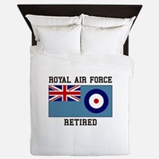 Royal Air Force Retired Queen Duvet