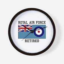 Royal Air Force Retired Wall Clock