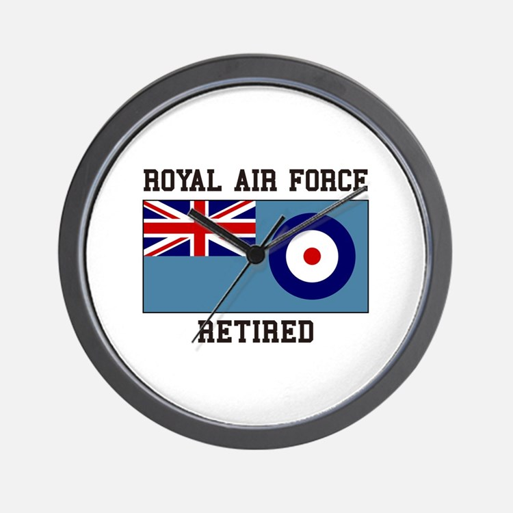 Royal Air Force Retired Wall Clock