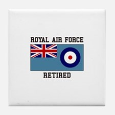 Royal Air Force Retired Tile Coaster