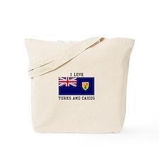 I Love Turks and Caicos Tote Bag