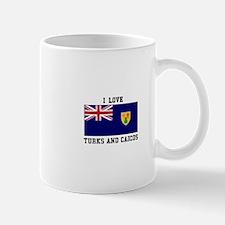 I Love Turks and Caicos Mugs