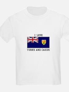 I Love Turks and Caicos T-Shirt
