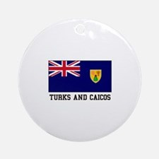 Turks and Caicos Ornament (Round)
