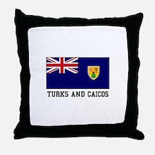 Turks and Caicos Throw Pillow