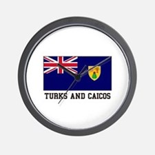 Turks and Caicos Wall Clock