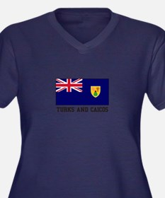 Turks and Caicos Plus Size T-Shirt