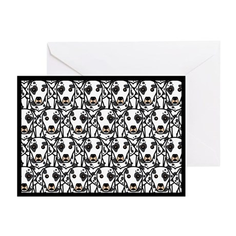 Dalmatians Greeting Cards (Pk of 20)