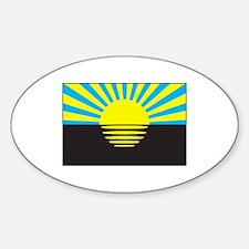 Donetsk, Ukraine Flag Decal