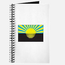 Donetsk, Ukraine Flag Journal