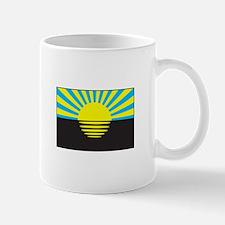 Donetsk, Ukraine Flag Mugs