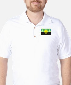 Donetsk, Ukraine Flag T-Shirt