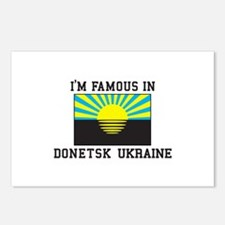 I'm Famous Postcards (Package of 8)