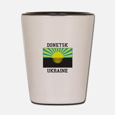 Donetsk Ukraine Shot Glass