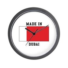 Made In Dubai Wall Clock
