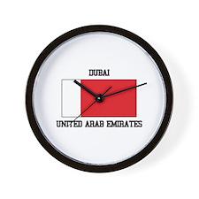 Dubai UAE Wall Clock