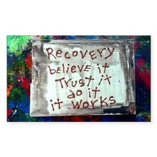 recovery inspirations Decal