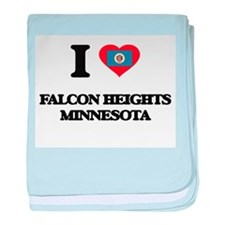 I love Falcon Heights Minnesota baby blanket