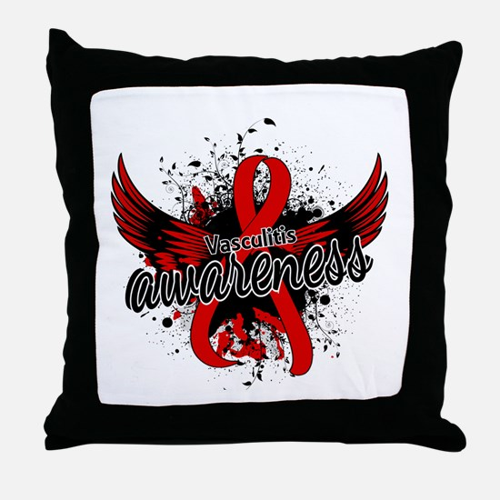 Vasculitis Awareness 16 Throw Pillow
