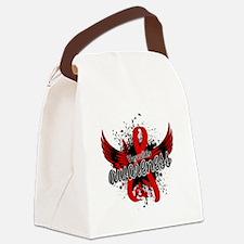 Vasculitis Awareness 16 Canvas Lunch Bag