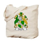 Sparke Family Crest Tote Bag