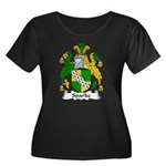 Sparke Family Crest Women's Plus Size Scoop Neck D