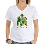 Sparke Family Crest Women's V-Neck T-Shirt