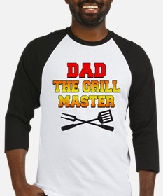 Dad The Grill Master Baseball Jersey