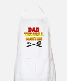 Dad The Grill Master Apron
