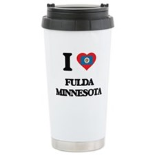 I love Fulda Minnesota Travel Mug