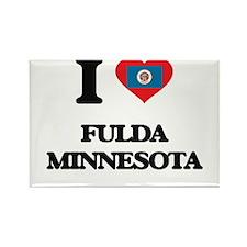 I love Fulda Minnesota Magnets