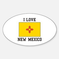 I Love New Mexico Decal