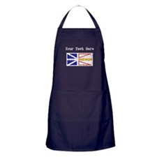 Worn Newfoundland Flag (Custom) Apron (dark)