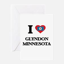 I love Glyndon Minnesota Greeting Cards