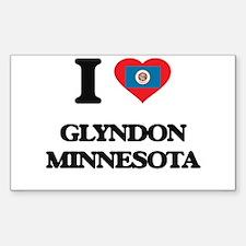 I love Glyndon Minnesota Decal