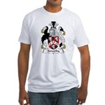 Sowerby Family Crest  Fitted T-Shirt